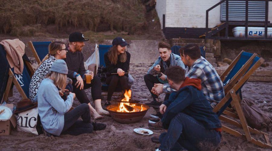 Camping er perfekt for det sosiale